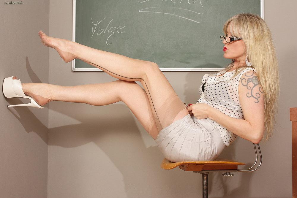 teacher high heel porn