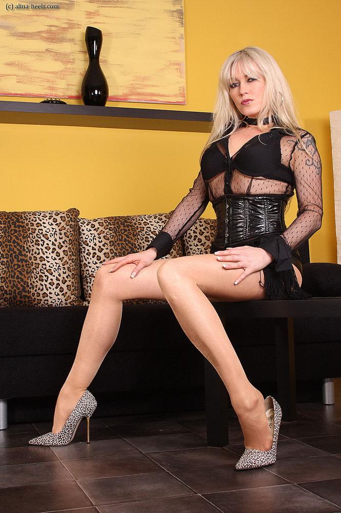 Latex And Ff Nylon Stockings